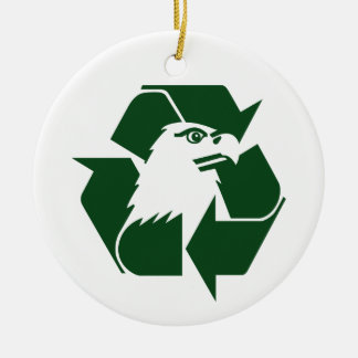 Recycle America christmas ornament