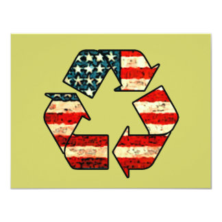 Recycle America Invitations