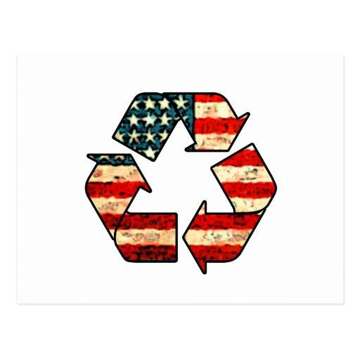 Recycle America Postcard