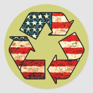Recycle America Stickers