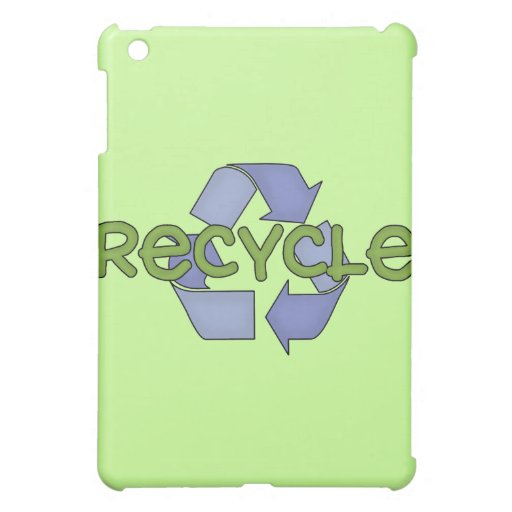 Recycle and Gifts Case For The iPad Mini
