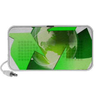 Recycle and save the world. travel speakers