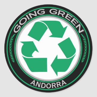 Recycle Andorra Stickers