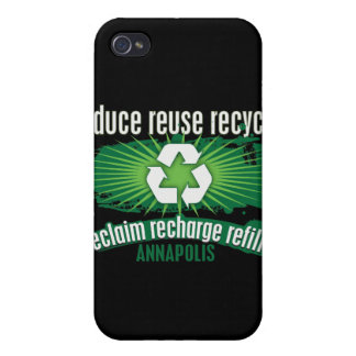 Recycle Annapolis iPhone 4/4S Cases