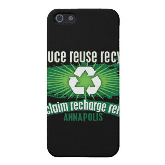 Recycle Annapolis iPhone 5 Cover
