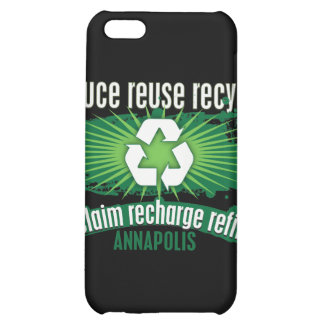 Recycle Annapolis iPhone 5C Cases