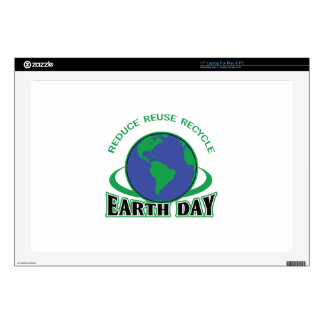 "RECYCLE APPLIQUE DECAL FOR 17"" LAPTOP"