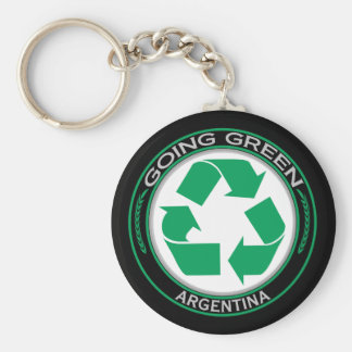 Recycle Argentina Keychain