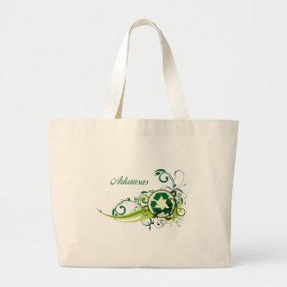 Recycle Arkansas Canvas Bags