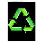 Recycle Arrows Design Card