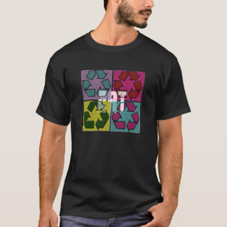 Recycle Art Pop Art Graphic Shirt
