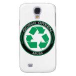 Recycle Aruba Galaxy S4 Case