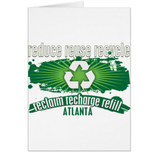 Recycle Atlanta Greeting Cards