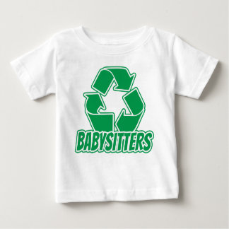 Recycle Babysitter Baby T-Shirt