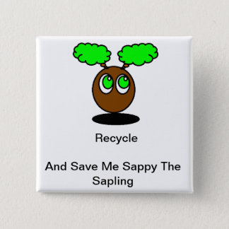 Recycle badge button