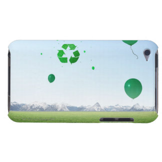 Recycle Balloons in the Sky iPod Touch Cases