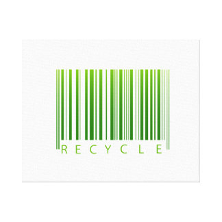 recycle barcode graphic.png canvas print