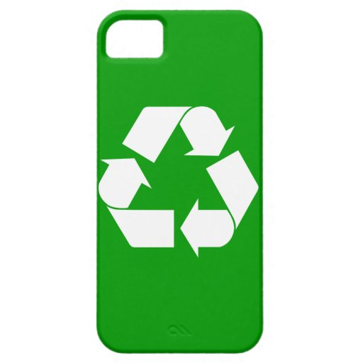 Recycle Barely There™ iPhone 5 Cas iPhone SE/5/5s Case