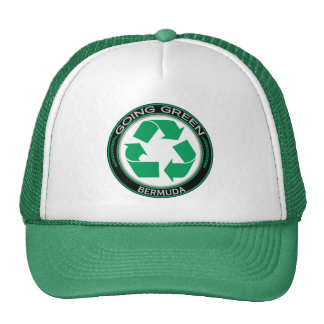 Recycle Bermuda Trucker Hat