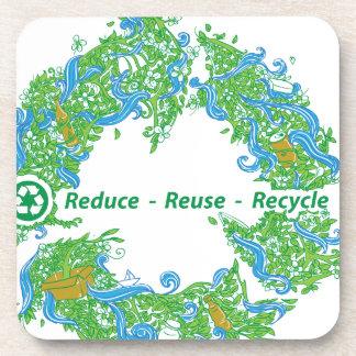 Recycle Beverage Coaster
