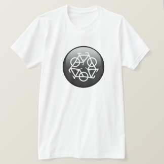 Recycle Bicycle (black) T-Shirt