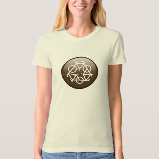 Recycle Bicycle (brown) T-Shirt