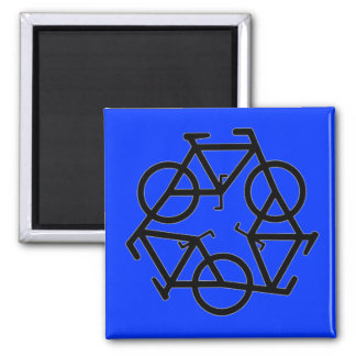 Recycle Bicycle Logo Symbol Magnet
