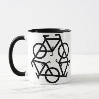 Recycle Bicycle Logo Symbol Mug