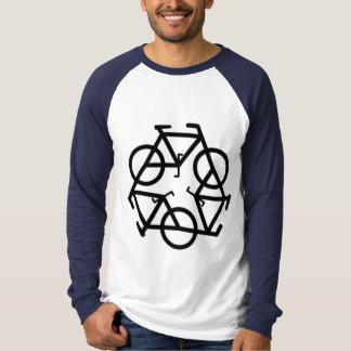 Recycle Bicycle Logo Symbol T-Shirt