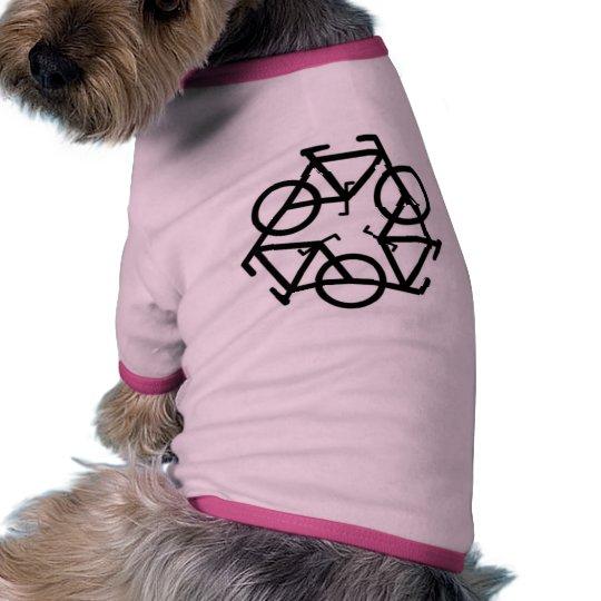 Recycle Bicycle Logo Symbol Tee