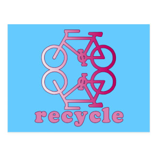 ReCycle Bicycling Products Postcard