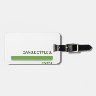 Recycle Bins Luggage Tag