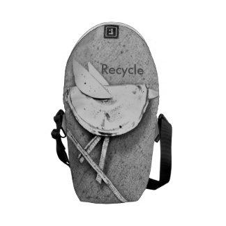 Recycle Bird Courier Bag