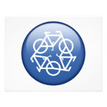 recycle-blue custom announcements