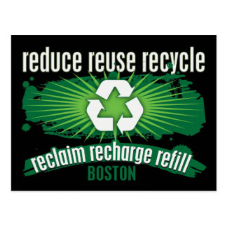 Recycle Boston Post Card