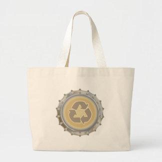 Recycle Bottle Cap Canvas Bags
