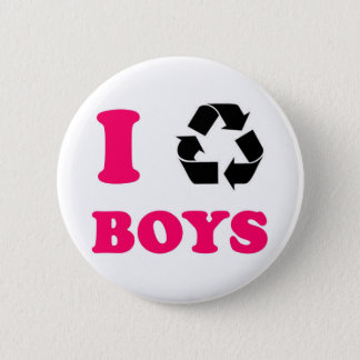 Recycle Boys Full Button