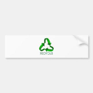 Recycle Car Bumper Sticker