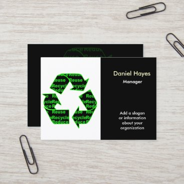 Recycle business cards colourmoves