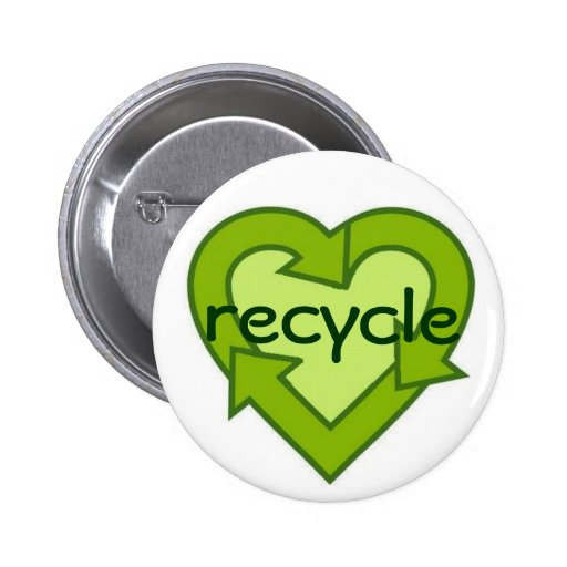 Recycle button-green