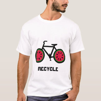 Recycle bycycle tshirt