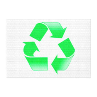 RECYCLE STRETCHED CANVAS PRINTS