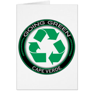 Recycle Cape Verde Card