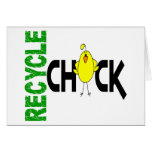 Recycle Chick 1 Card