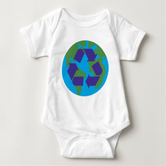 Recycle Color.png Baby Bodysuit