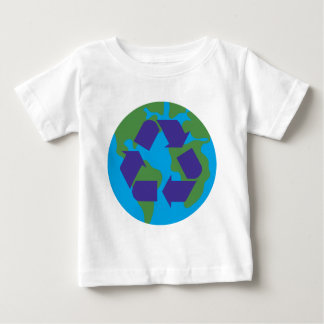 Recycle Color.png Baby T-Shirt