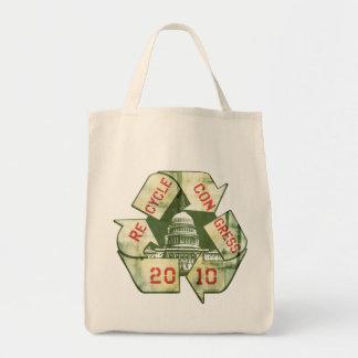 Recycle Congress Anti-Incumbent Gear Tote Bag