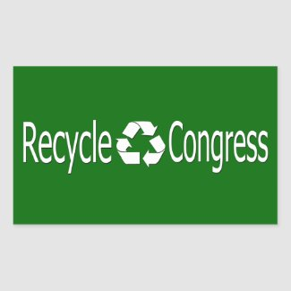 Recycle Congress Stickers