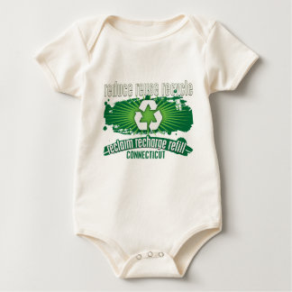 Recycle Connecticut Baby Bodysuit