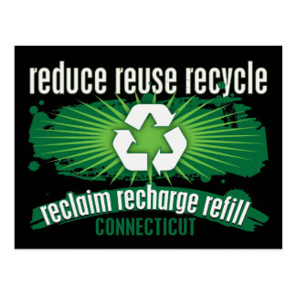Recycle Connecticut Postcard